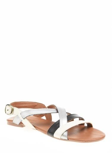 Polaris Spor Sandalet Gümüş